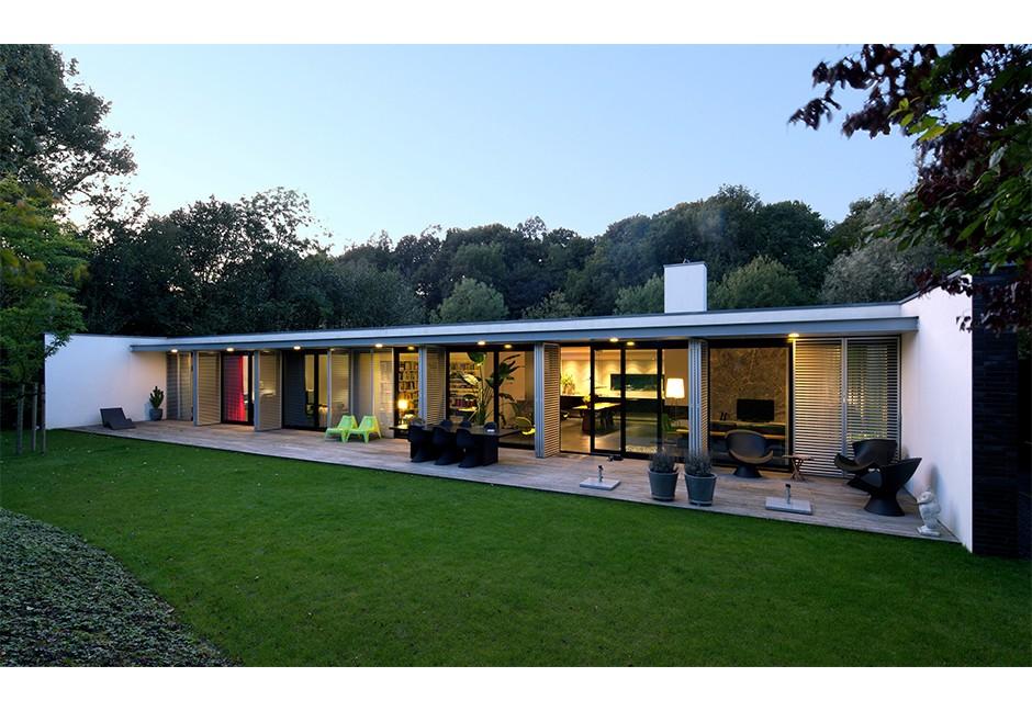 Woonhuis kralingen de kovel architecten architecten for Architecten moderne stijl